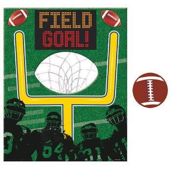 Amscan Football Football Disc Toss Game 5pc