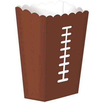 Amscan Football Football Large Snack Boxes 8ct