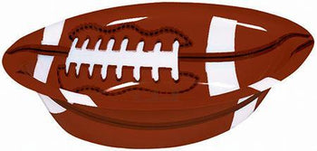 Amscan Football Football Plastic Snack Bowl 6 1/2in