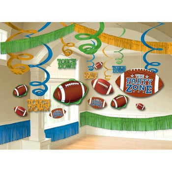 Amscan Football Football Room Decorating Kit