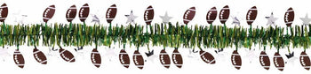 Amscan Football Football Tinsel Garland