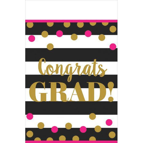 Amscan Graduation Confetti Grad Table Cover