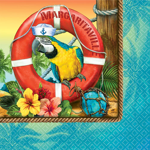 AMSCAN Luau Margaritaville Lunch Napkins 36ct