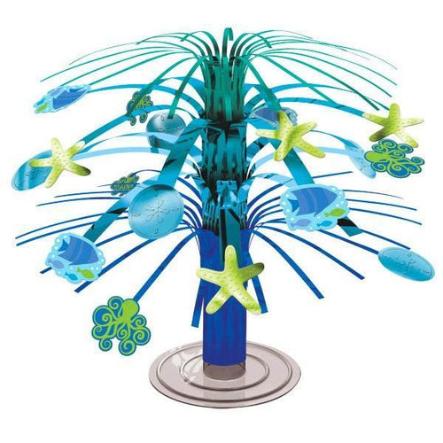 Amscan Luau Summer Sea Mini Cascade Centerpiece