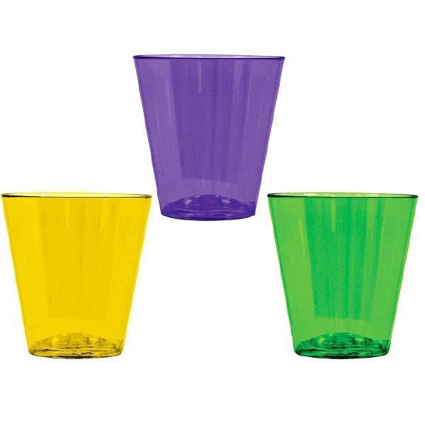 AMSCAN MARDI GRAS Mardi Gras 2oz Shot Glasses - 40ct