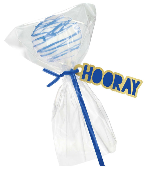 AMSCAN Party Supplies Royal Blue Cake Pop Kit for 24