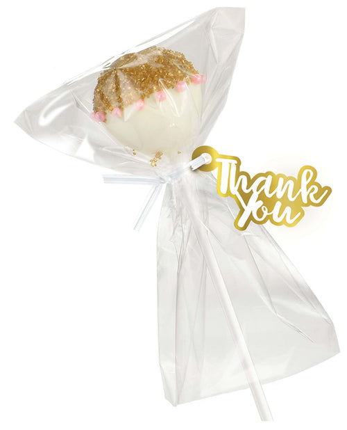 AMSCAN Party Supplies White Cake Pop Kit for 24