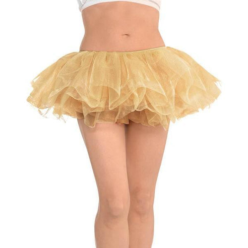 Amscan Spirit Adult Gold Tutu