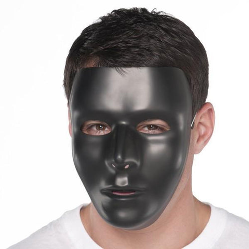 Amscan Spirit Black Face Mask