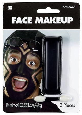 Amscan Spirit Black Face Paint Makeup