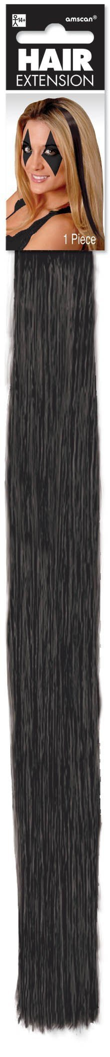 Amscan Spirit Black Hair Extension