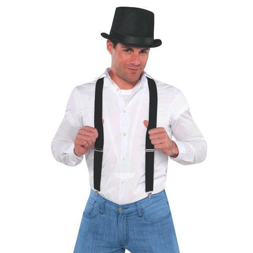 Amscan Spirit Black Suspenders