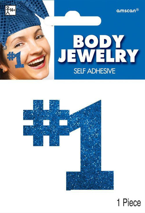 Amscan Spirit Blue #1 Body Jewelry