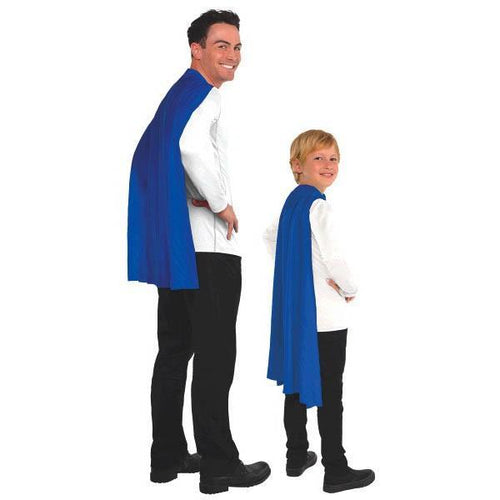 Amscan Spirit Blue Cape