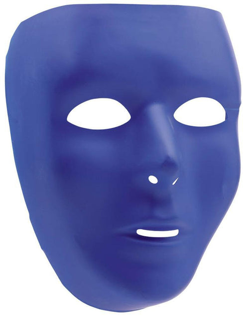 Amscan Spirit Blue Face Mask