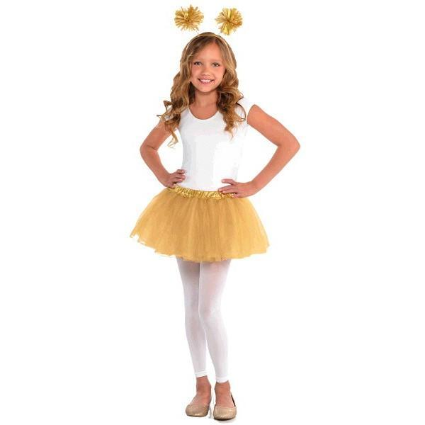 Amscan Spirit Child Gold Tutu