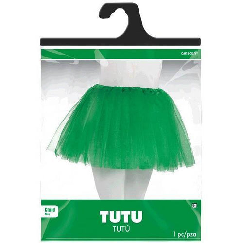 Amscan Spirit Child Green Tutu