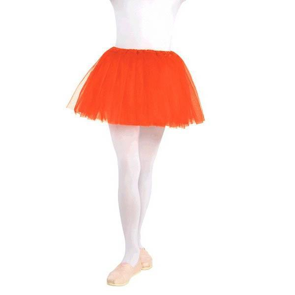 Amscan Spirit Child Orange Tutu