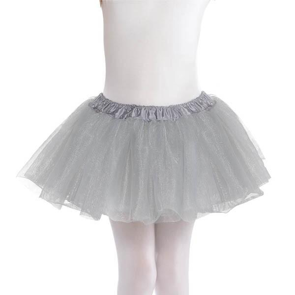 Amscan Spirit Child Silver Tutu