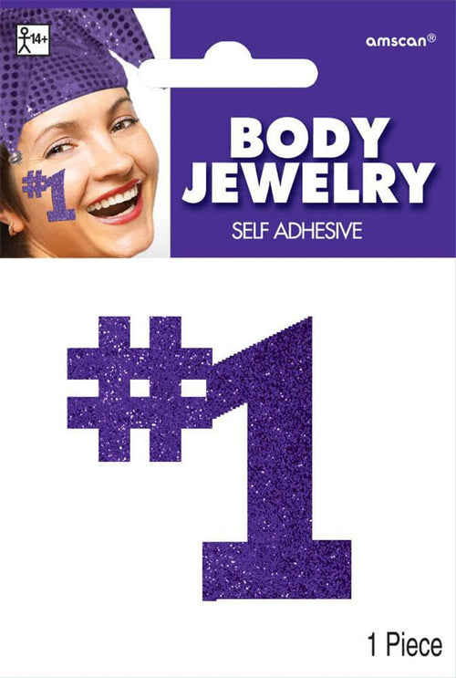 Amscan Spirit Purple #1 Body Jewelry