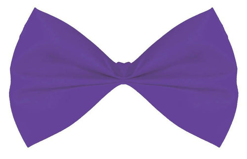 Amscan Spirit Purple Bow Tie