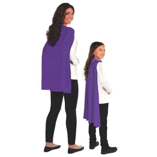 Amscan Spirit Purple Cape