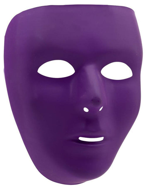 Amscan Spirit Purple Face Mask