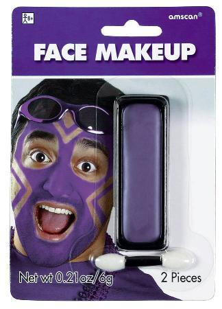 Amscan Spirit Purple Face Paint Makeup