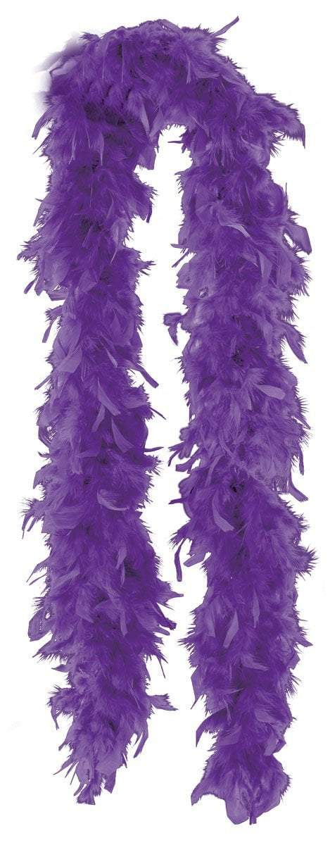 Amscan Spirit Purple Feather Boa