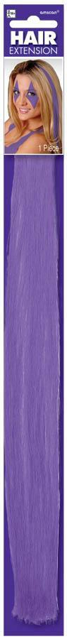 Amscan Spirit Purple Hair Extension
