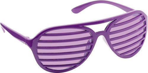 Amscan Spirit Purple Shutter Glasses