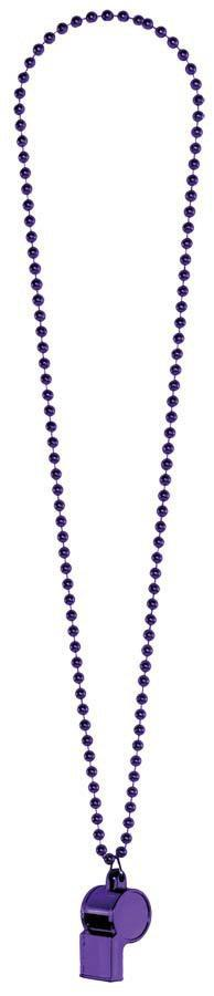Amscan Spirit Purple Whistle Necklace