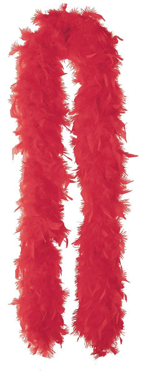 Amscan Spirit Red Feather Boa