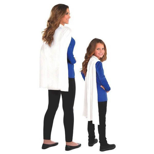 Amscan Spirit White Cape