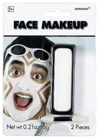 Amscan Spirit White Face Paint Makeup