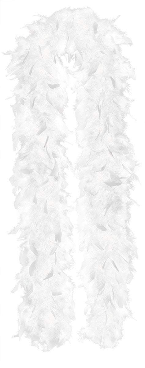 Amscan Spirit White Feather Boa
