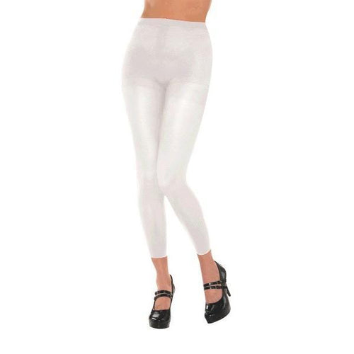 Amscan Spirit White Footless Tights
