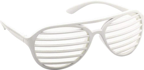 Amscan Spirit White Shutter Glasses