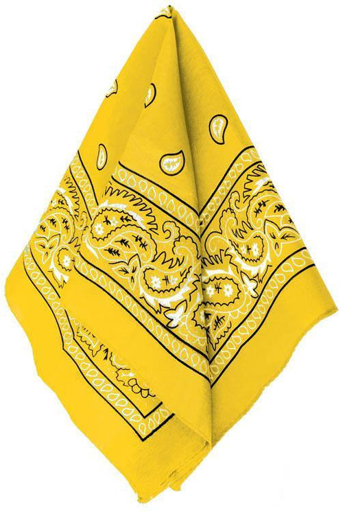 Amscan Spirit Yellow Bandana