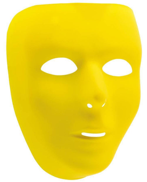Amscan Spirit Yellow Face Mask