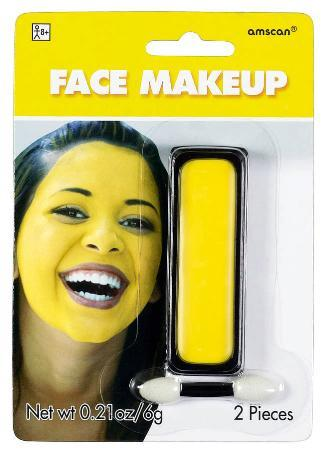 Amscan Spirit Yellow Face Paint Makeup