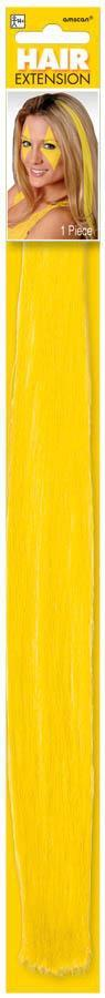 Amscan Spirit Yellow Hair Extension