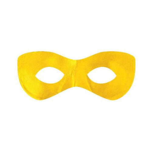 Amscan Spirit Yellow Superhero Mask