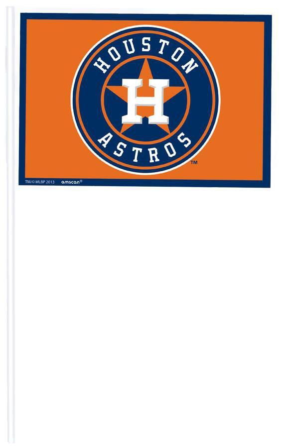 Amscan Sports Houston Astros Mini Flags 12ct