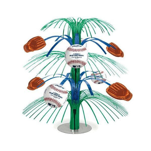 Amscan Sports Rawlings Baseball Cascade Centerpiece