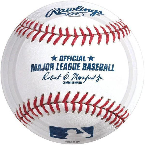 Amscan Sports Rawlings Baseball Lunch Plates 8ct