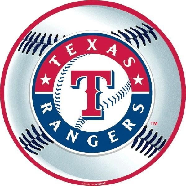 Amscan Sports Texas Rangers Cutout