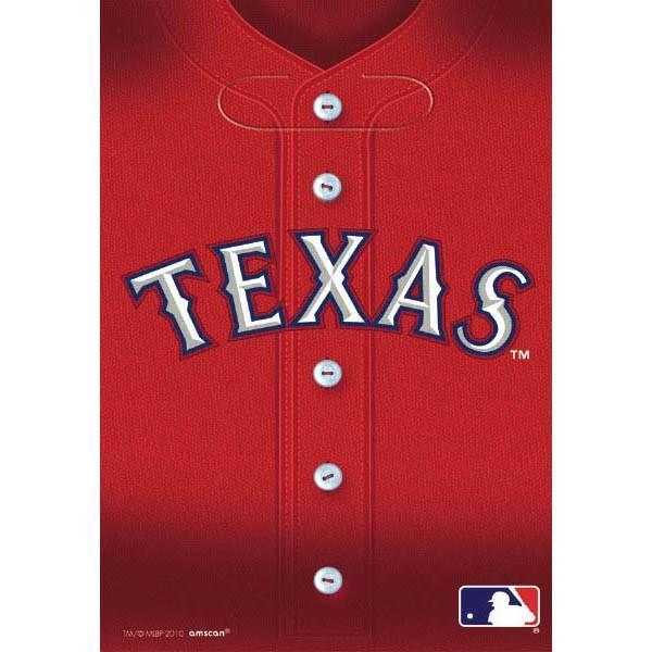 Amscan Sports Texas Rangers Favor Bags 8ct