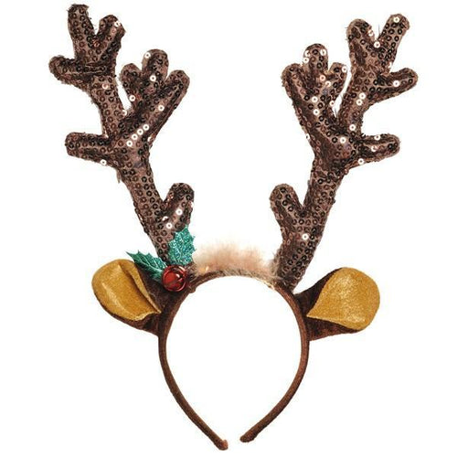 Amscan Staging Brown Antler Headband