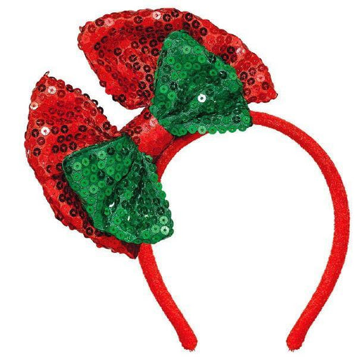 Amscan Staging Christmas Headband w/Bow